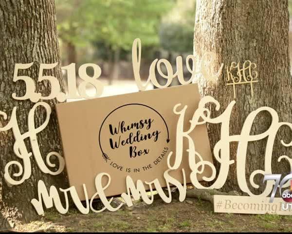 Whimsy Wedding Box
