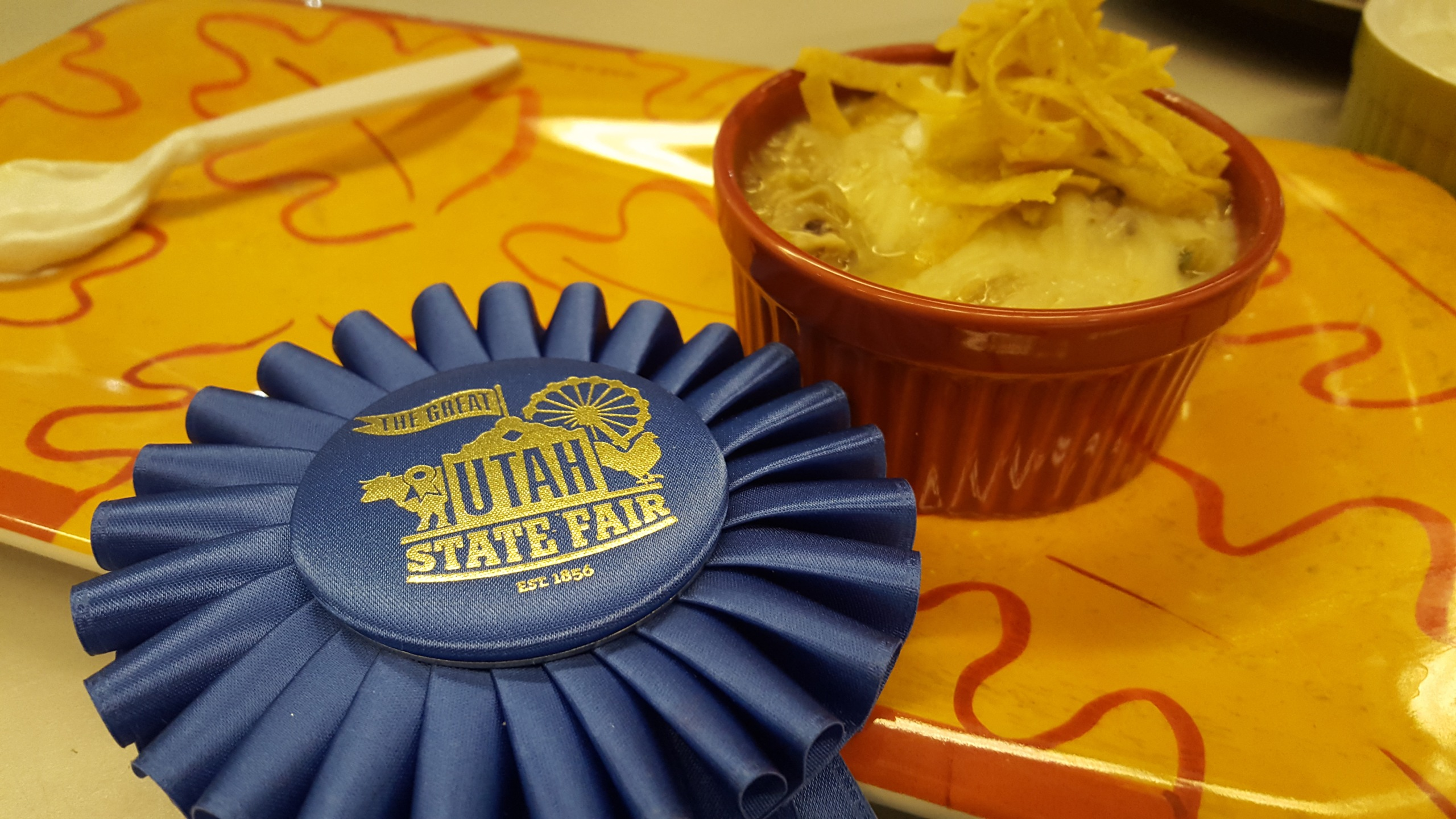 First Place at the State Fair Chili Cooking Contest - Amy's White Chicken Chili_1505532441365.jpg