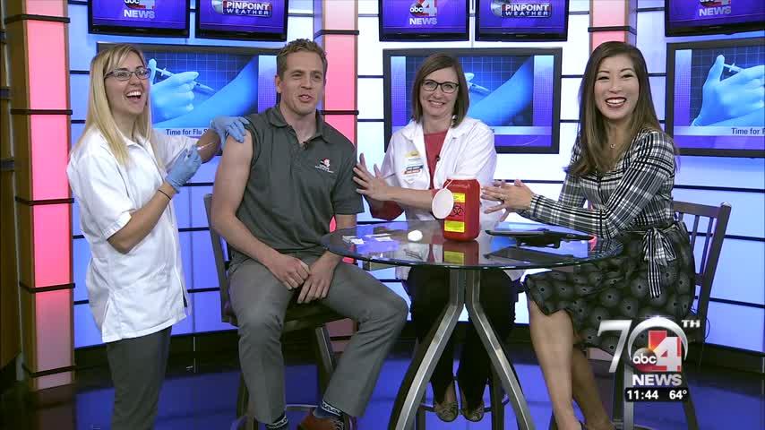 Watch Brian Carlson get a flu shot on air_33878368