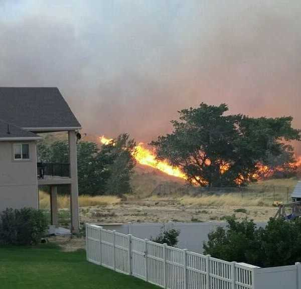 Weber Canyon Fire picture