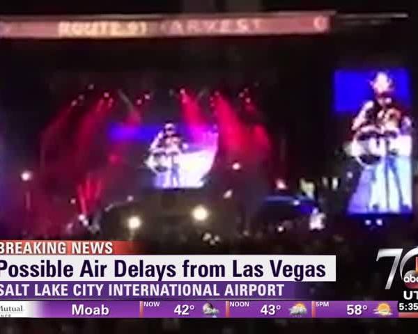 Las Vegas Shooting Flight Impact