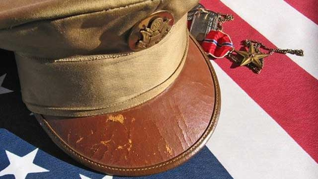 American flag, soldier's hat, Memorial Day, Veterans Day_8987462852450-159532