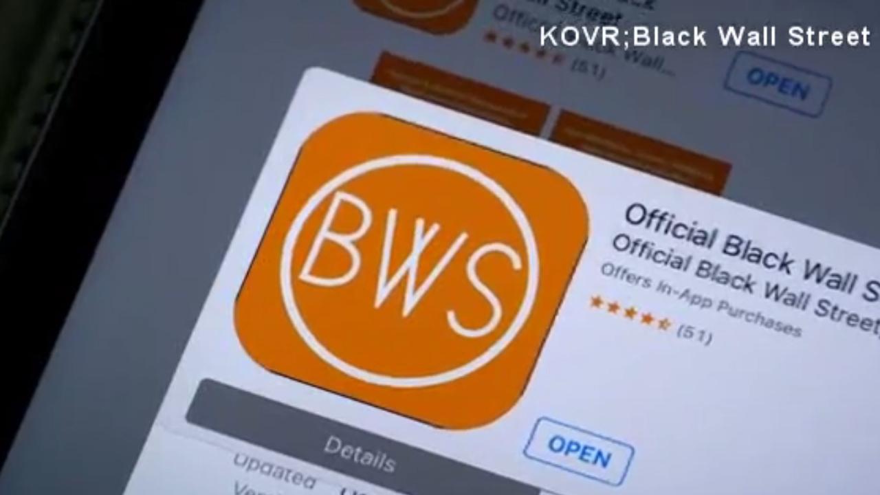 Black Wall Street app, social media27544131-159532