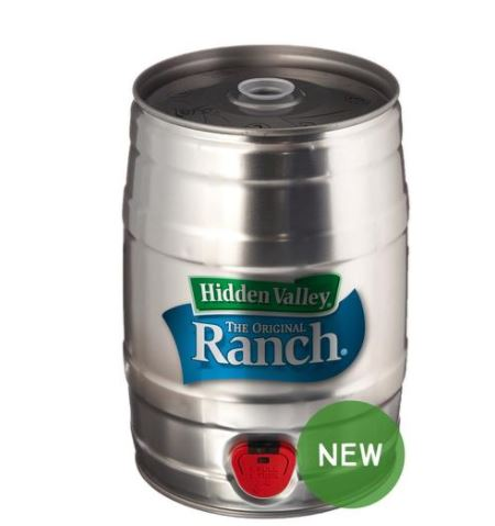hidden valley ranch keg