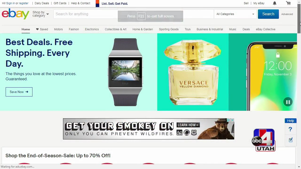 Tech Time selling items online