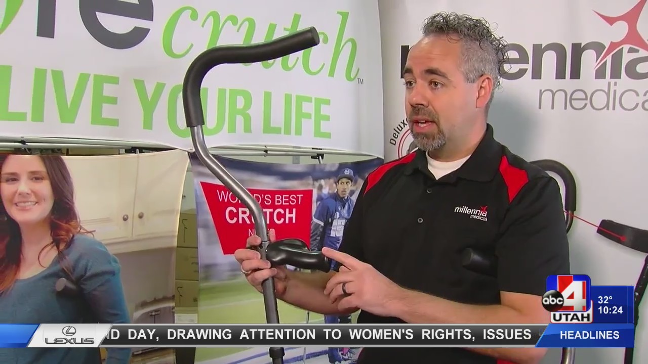 Need crutches?  Don't buy any until you've seen these.