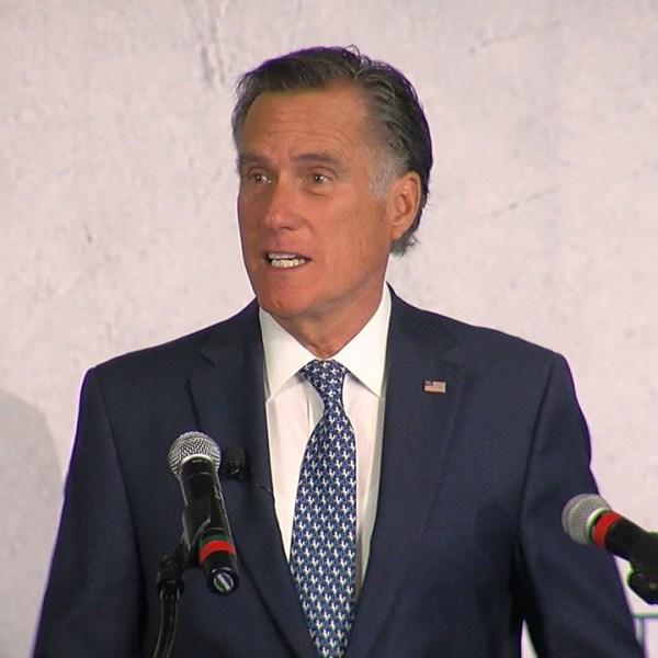 Mitt Romney speaks at summit