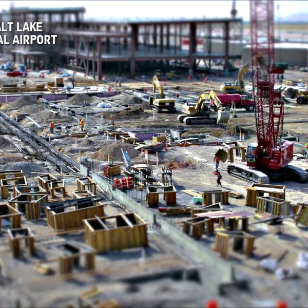 New SLC Airport Construction