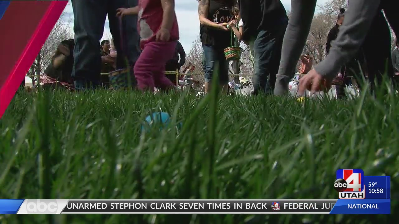 Easter egg hunt helps homeless