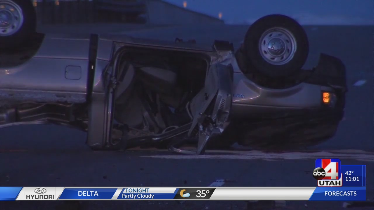 Fatal Crash on I-15 in Utah County