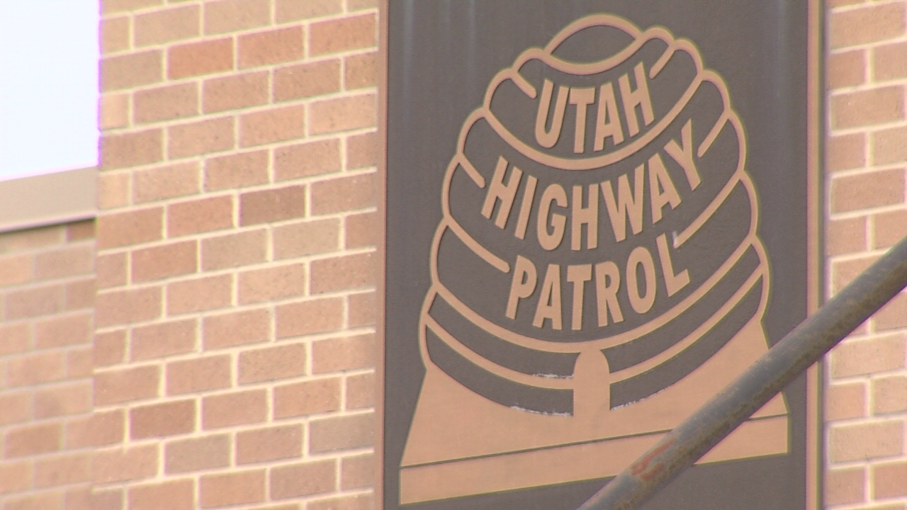 Utah Highway Patrol sign
