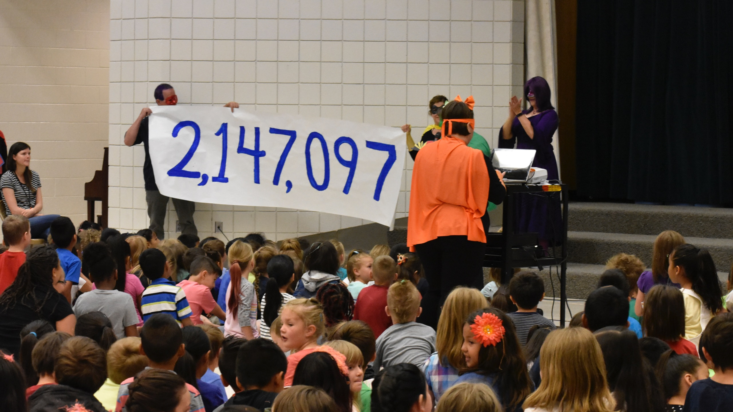 columbia elementary school reads 2 mill minutes