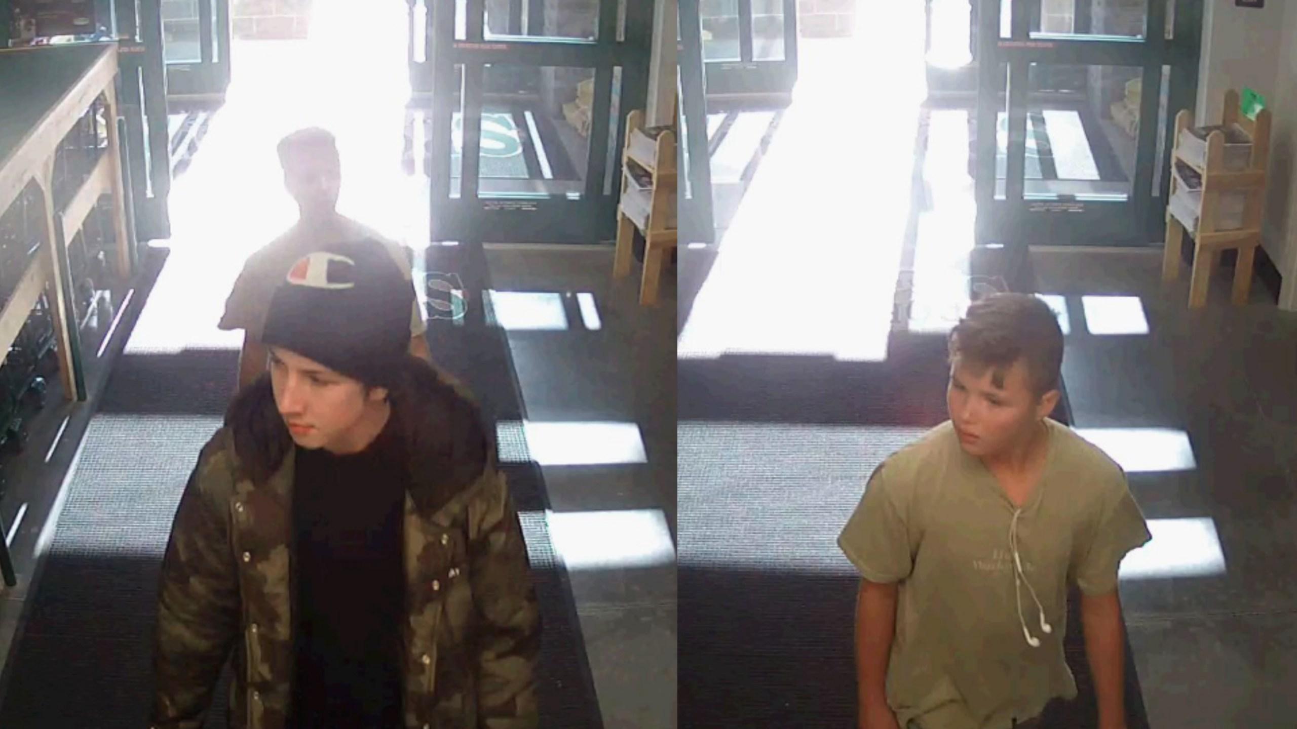 boys stolen handguns