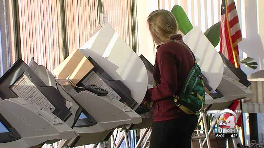 Utahns head to the polls on Election Day_87837391