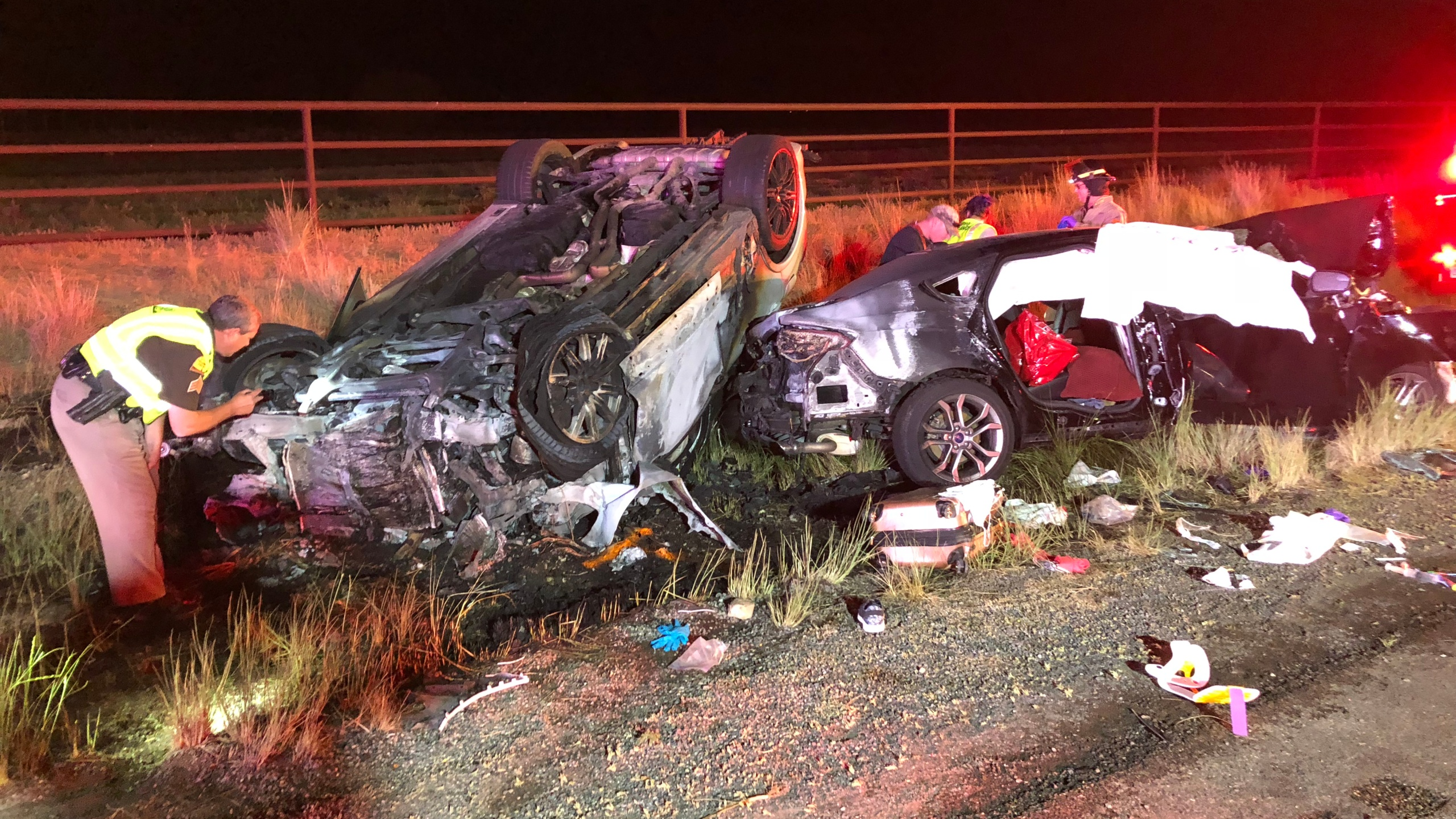 3 family members vacationing in Utah killed in crash near Scipio