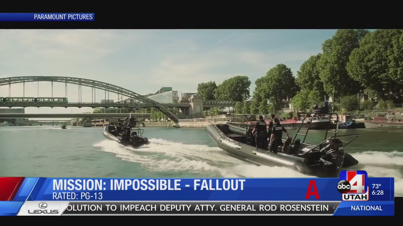 Film critic reviews 'Mission Impossible: Fallout'