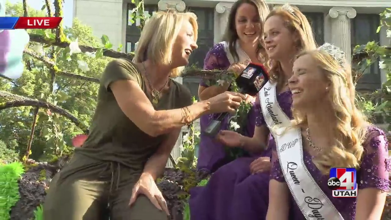 Nicea chats with Days of '47 Royalty