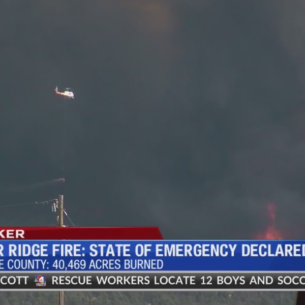 Utahns urged not to light fireworks as fire continues to scorch Duchesne County