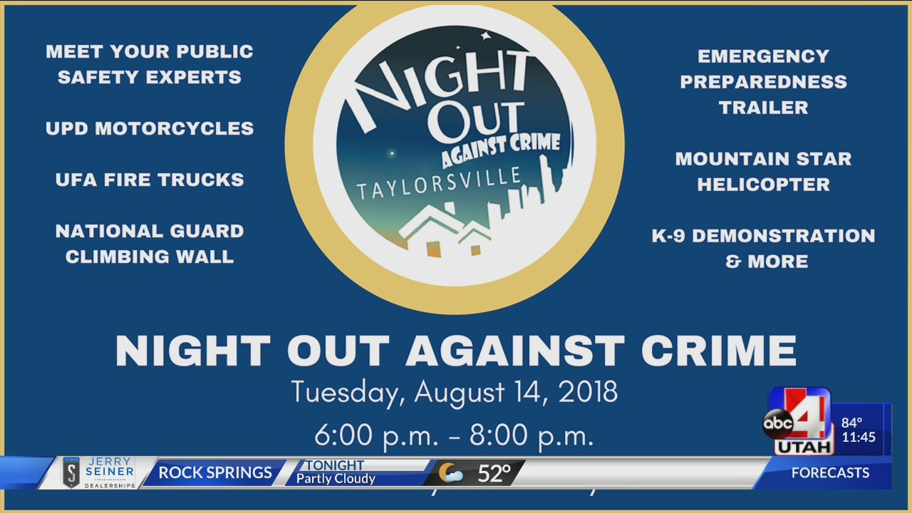 Taylorsville Night Out Against Crime