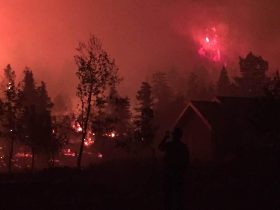 POLE CREEK PAYSON FIRE