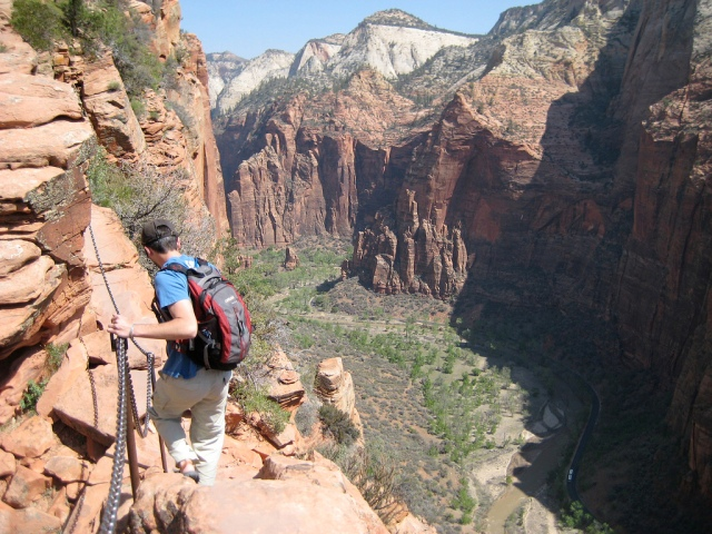 Zion to temporarily close Angels Landing for repairs