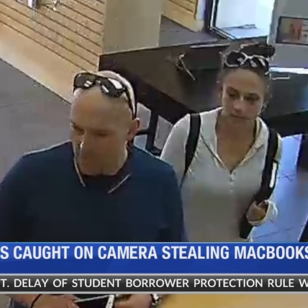 Brazen thieves make off with Macbooks from Sandy tech store