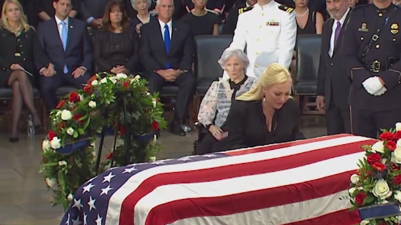 Capitol ceremony honors Sen. John McCain