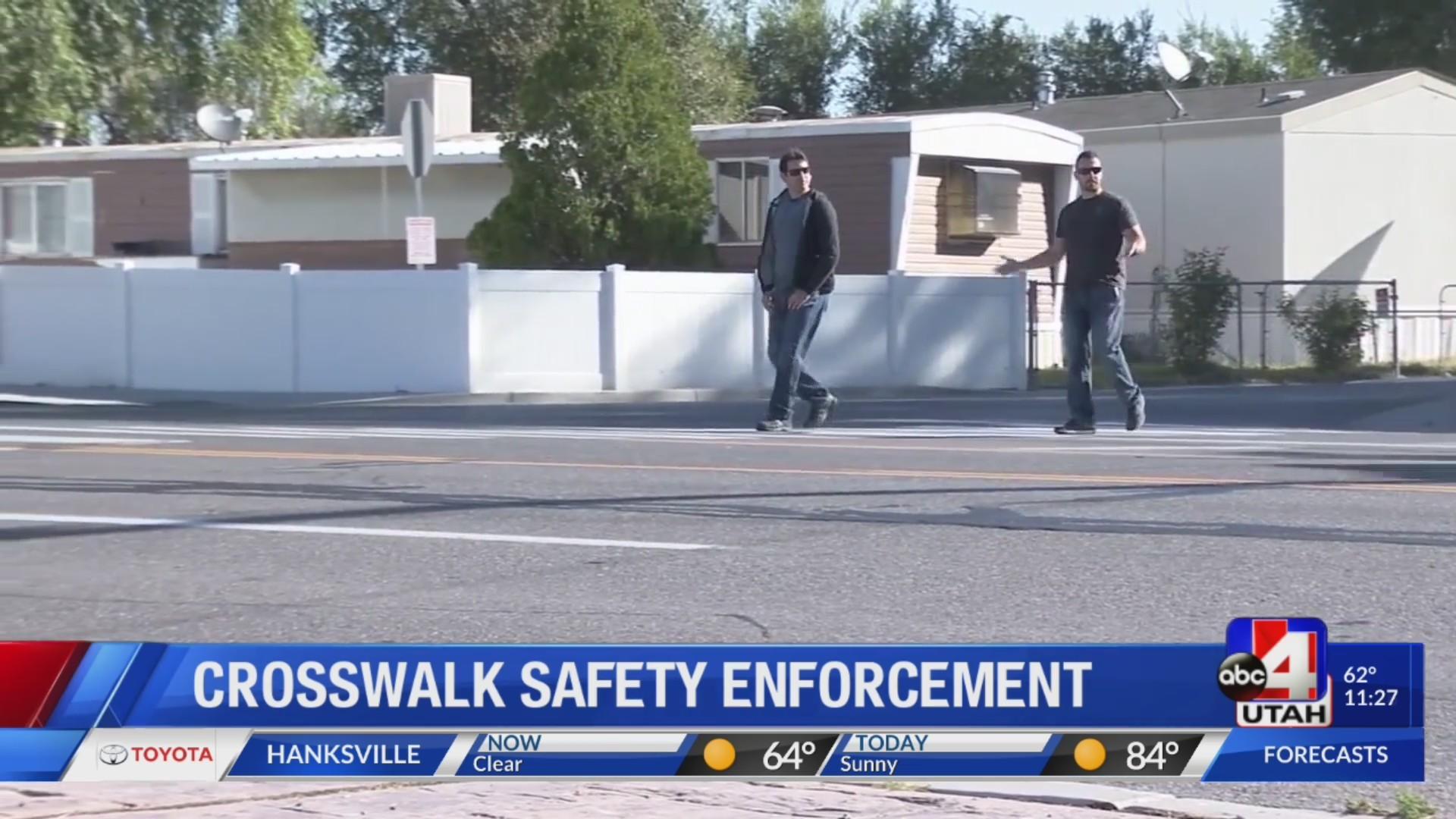 Crosswalk Safety Enforcement