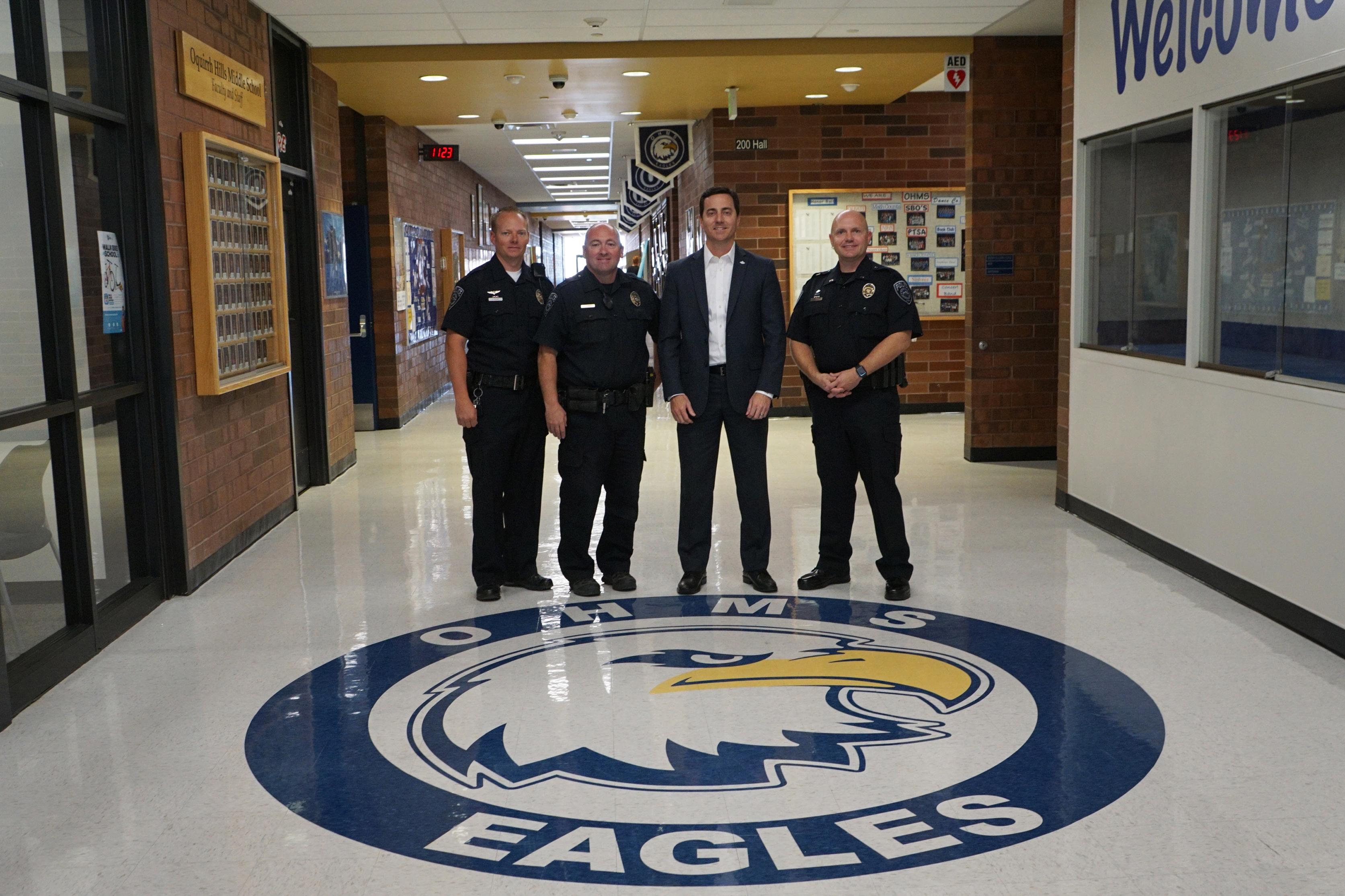 Following School Safety Meeting Full Time Police Officers Added To Riverton Middle Schools