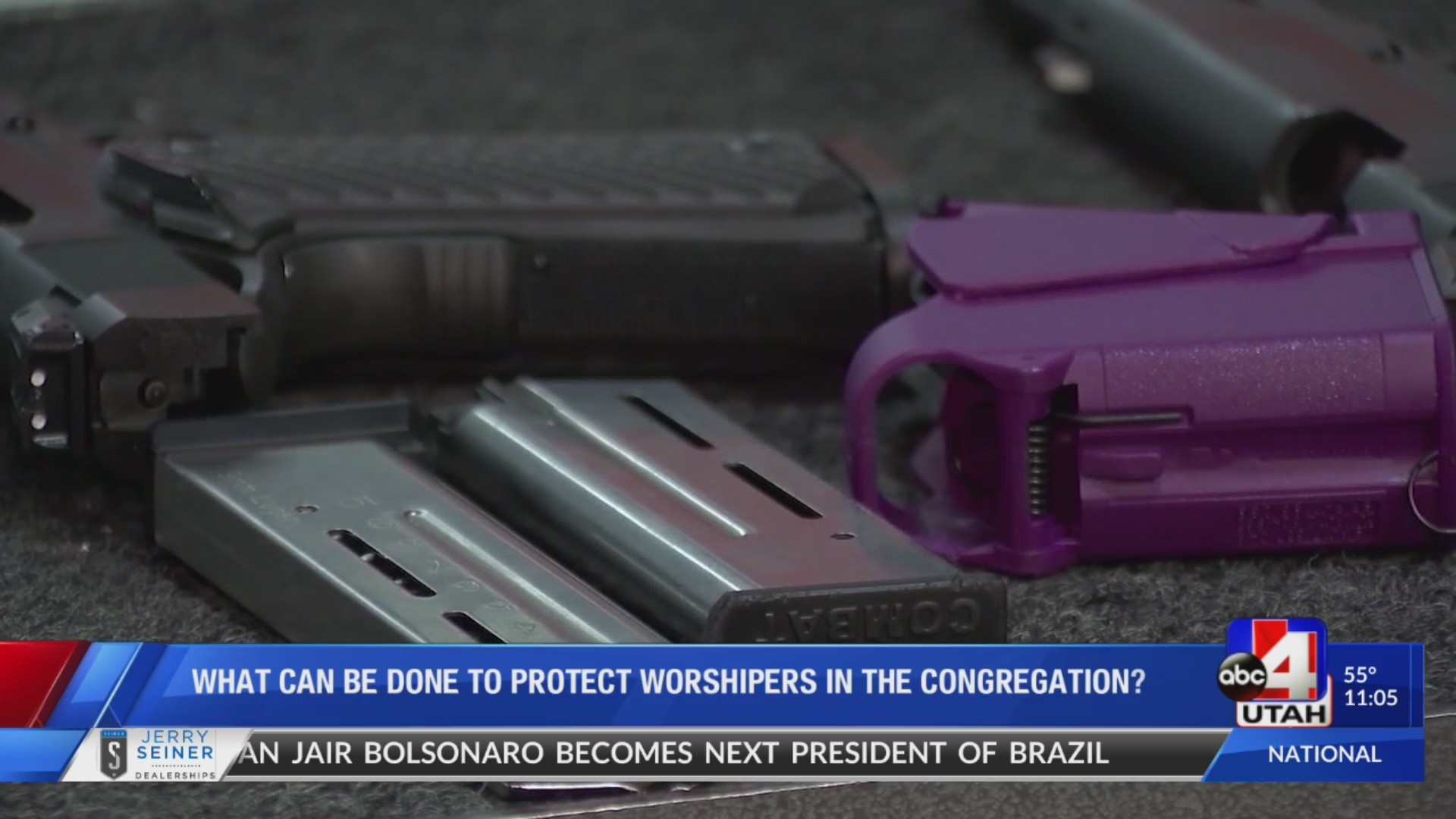 Should guns be allowed in worship centers to protect its congregation?