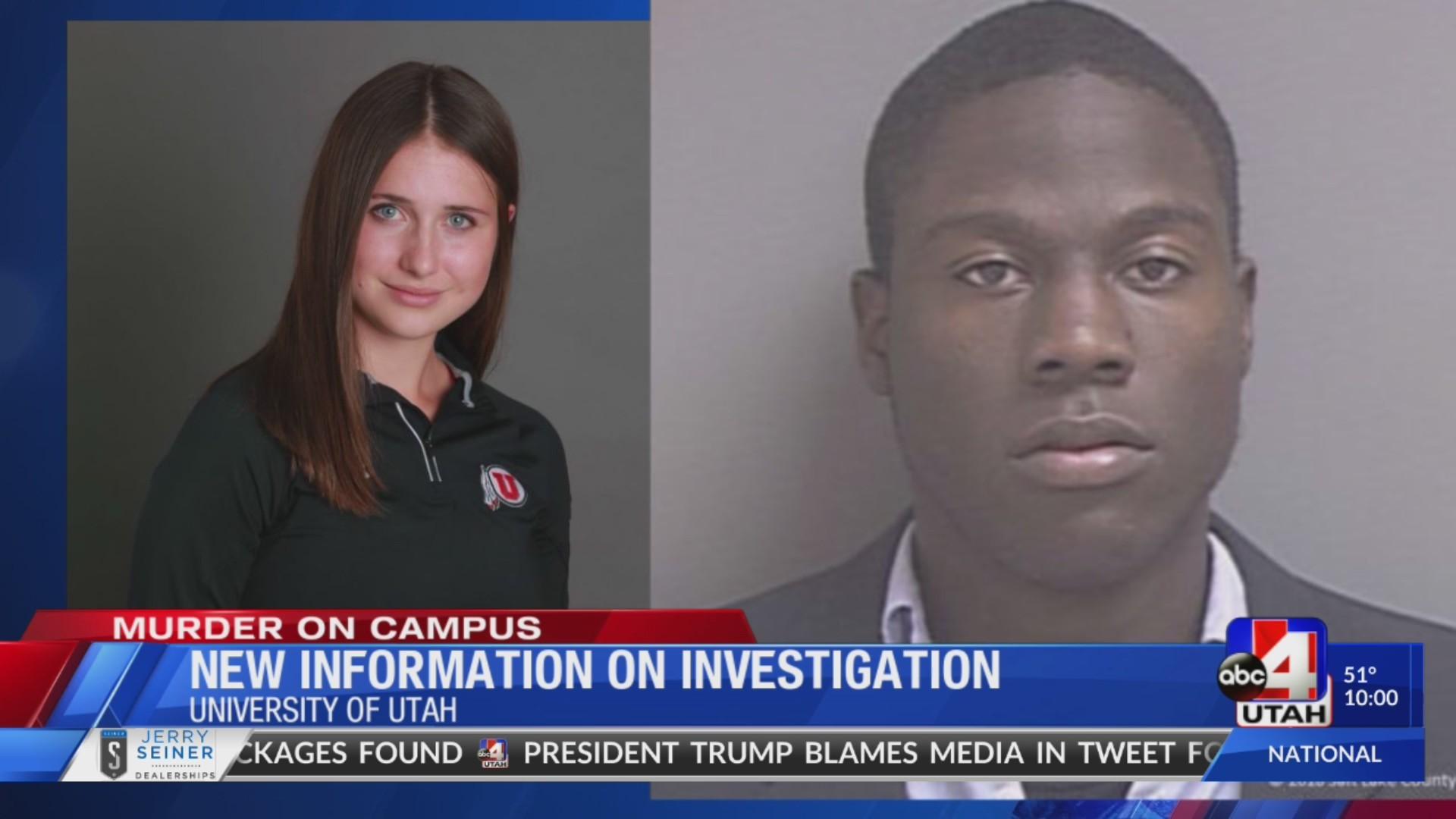 Timeline of days before U of U student's murder reveals