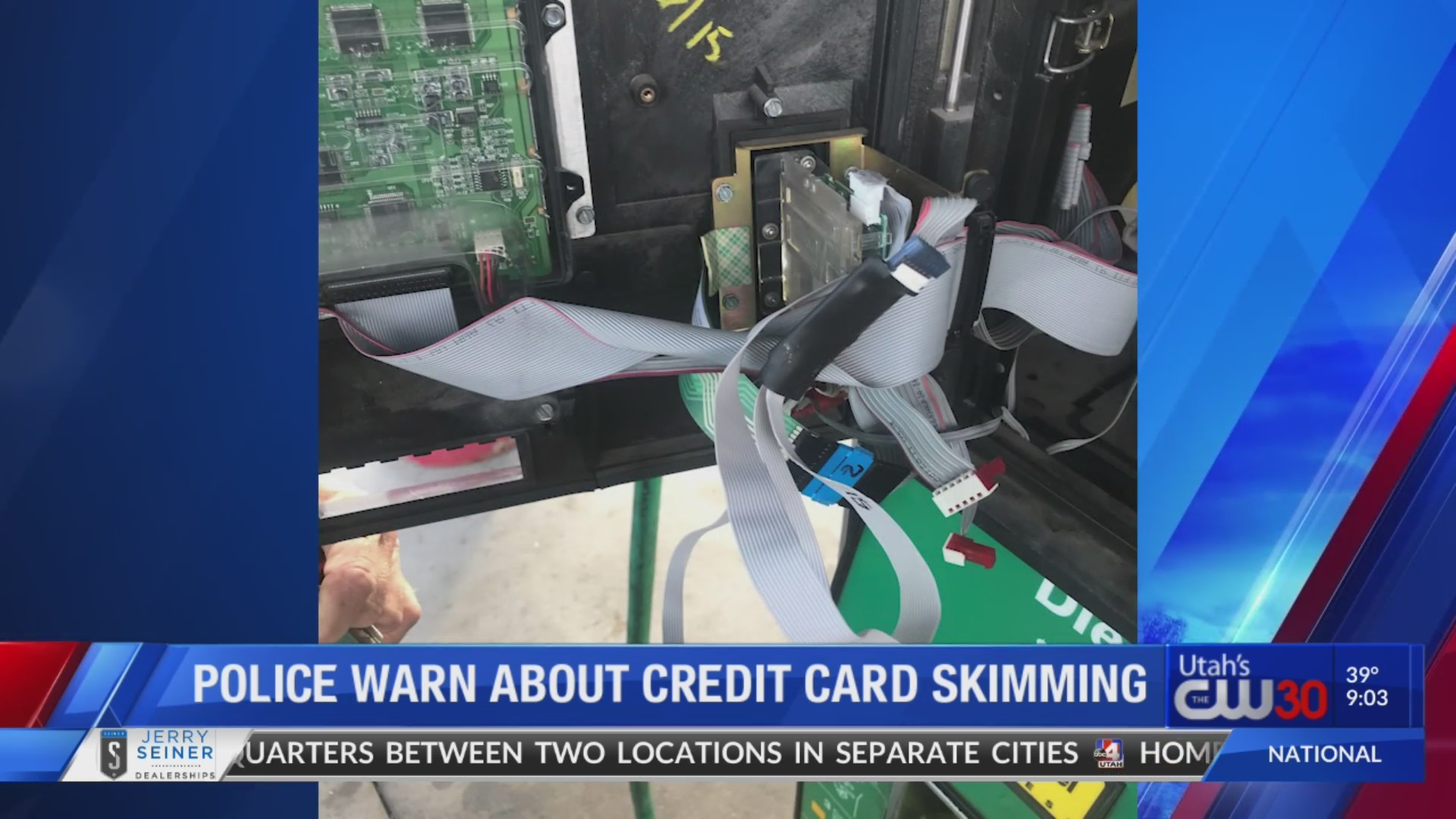 Police warn about credit card skimmers at gas stations