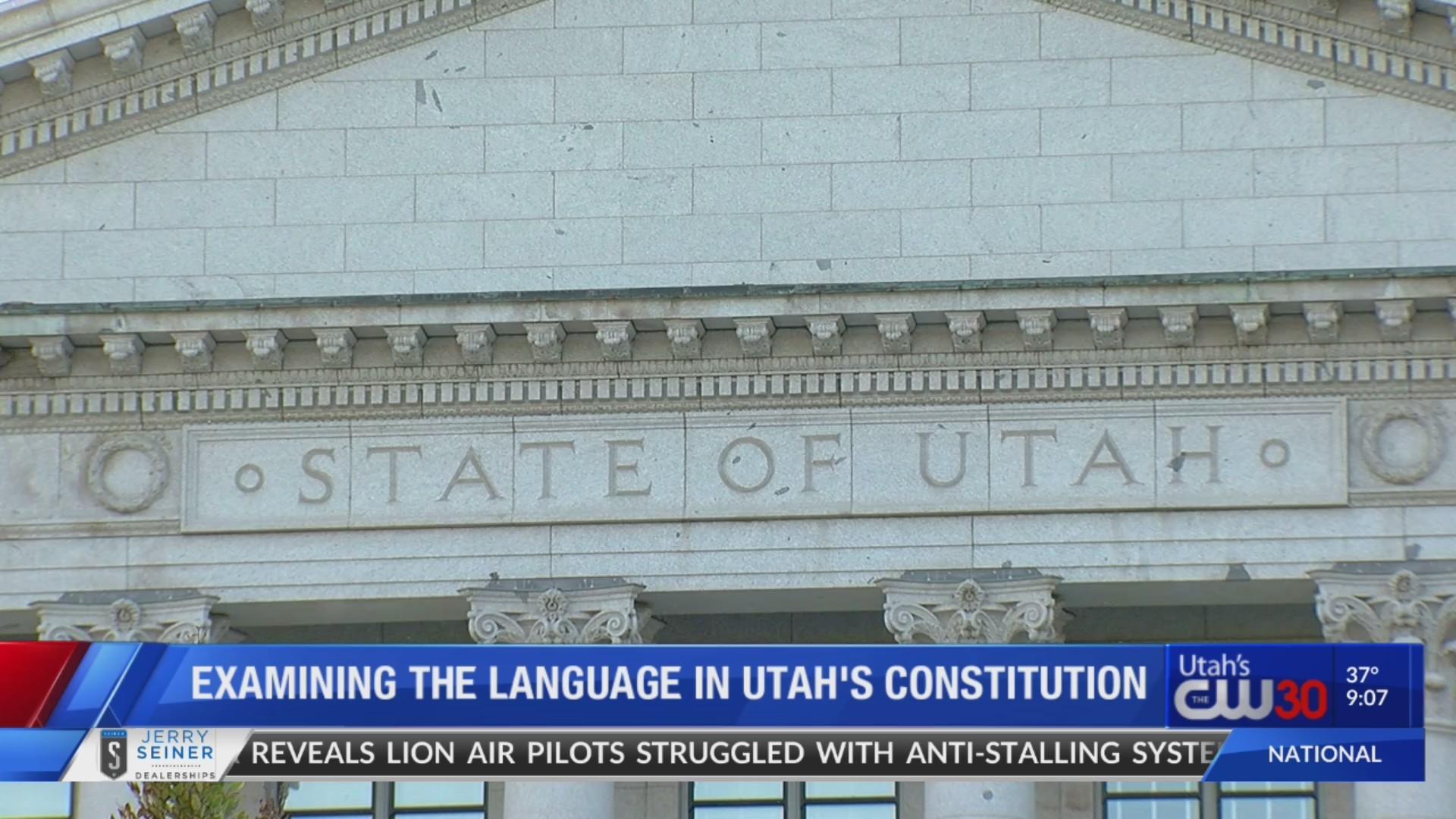 Slavery in Utah's Constitution explained