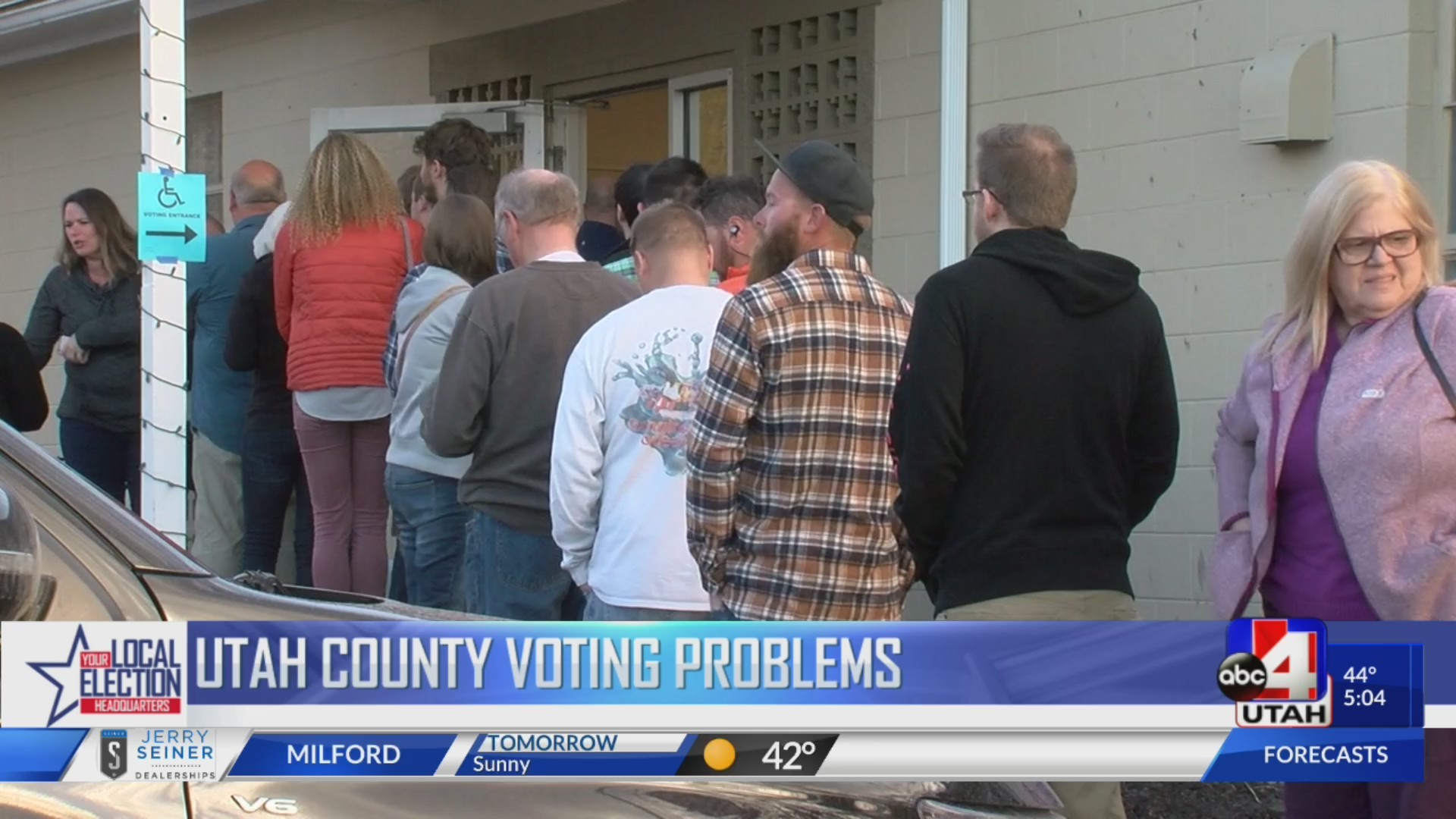 Utah County Voting Problems