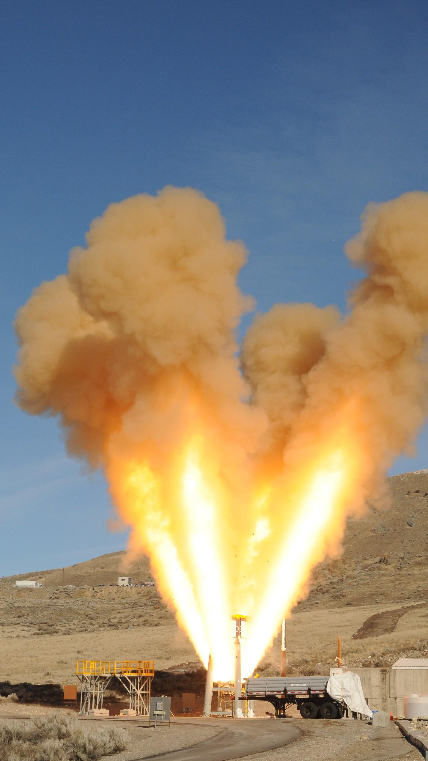 Northrop Grumman rocket test