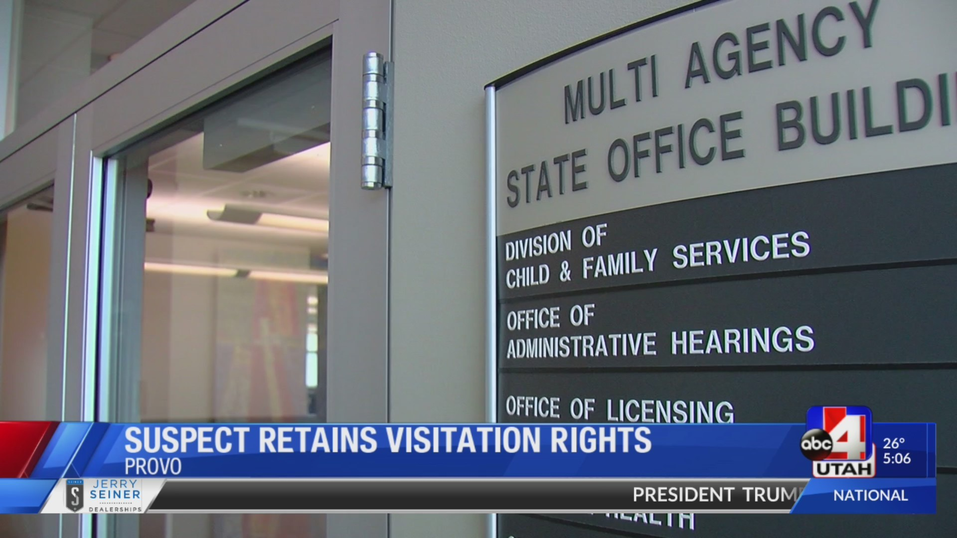 Suspect retains visitation rights; is allowed to see alleged victim days after arrest