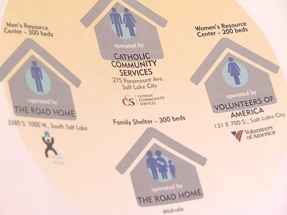 Three new homeless resource centers in Salt Lake County