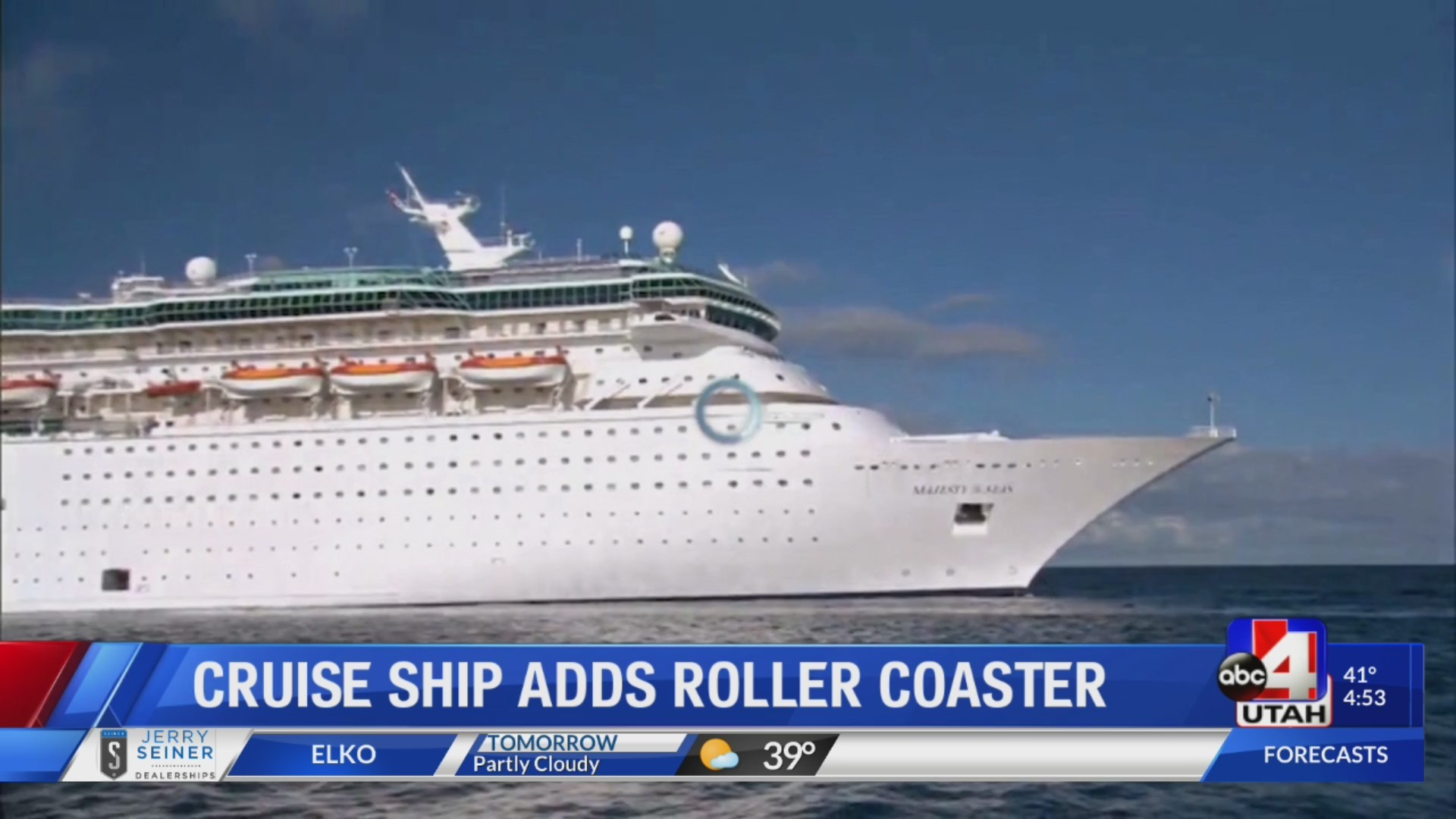Certain cruise ships are getting roller coasters
