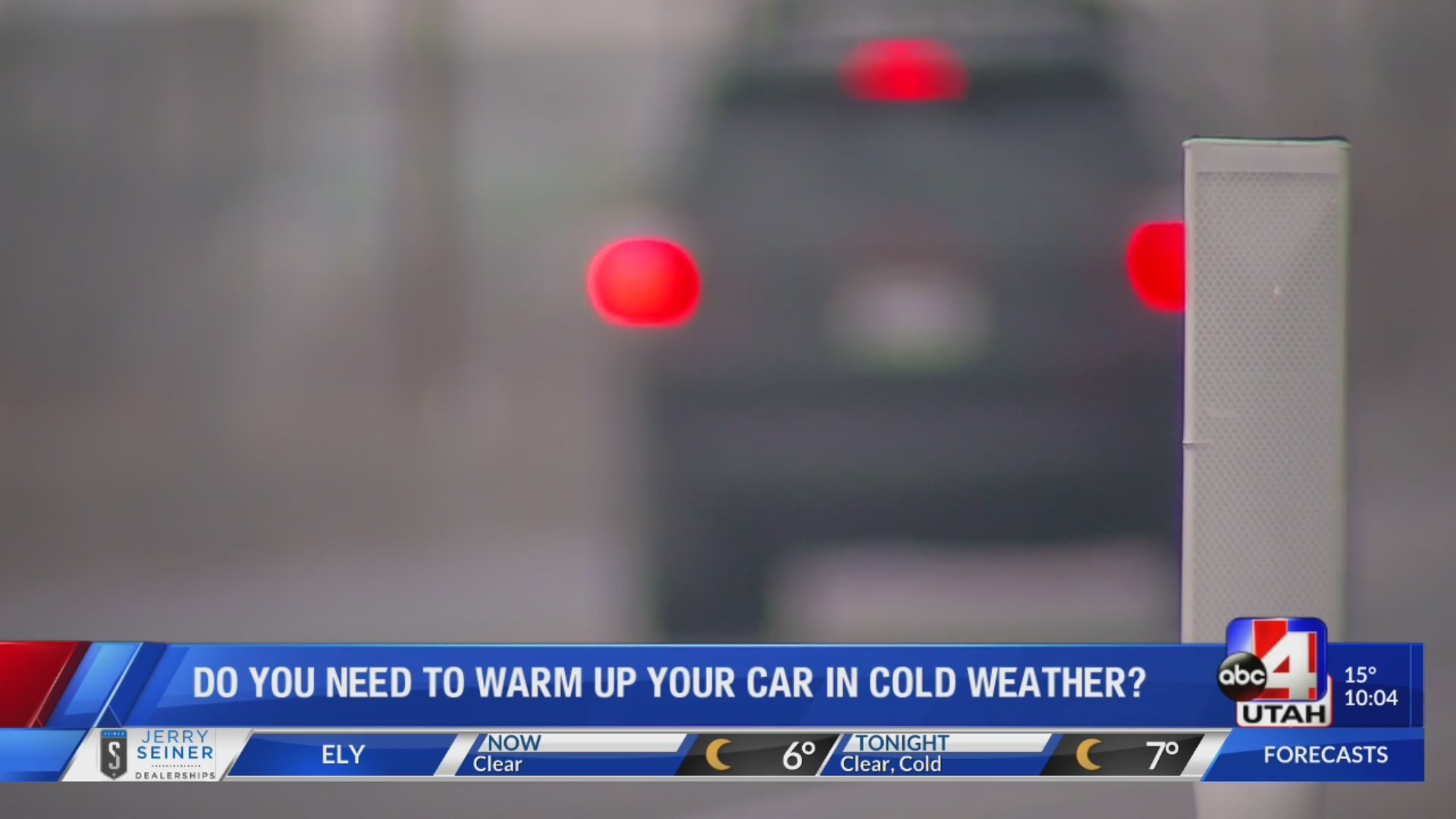Do you need to warm up your car in cold weather?