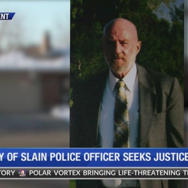 Family of slain police officer seeks justice