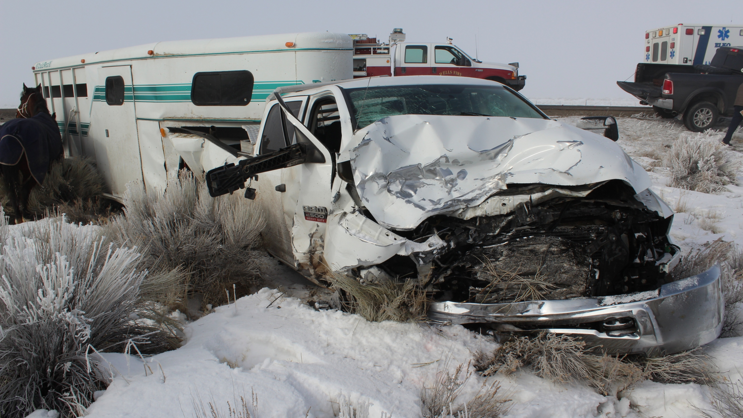 deadly crash in Wells, Nev.