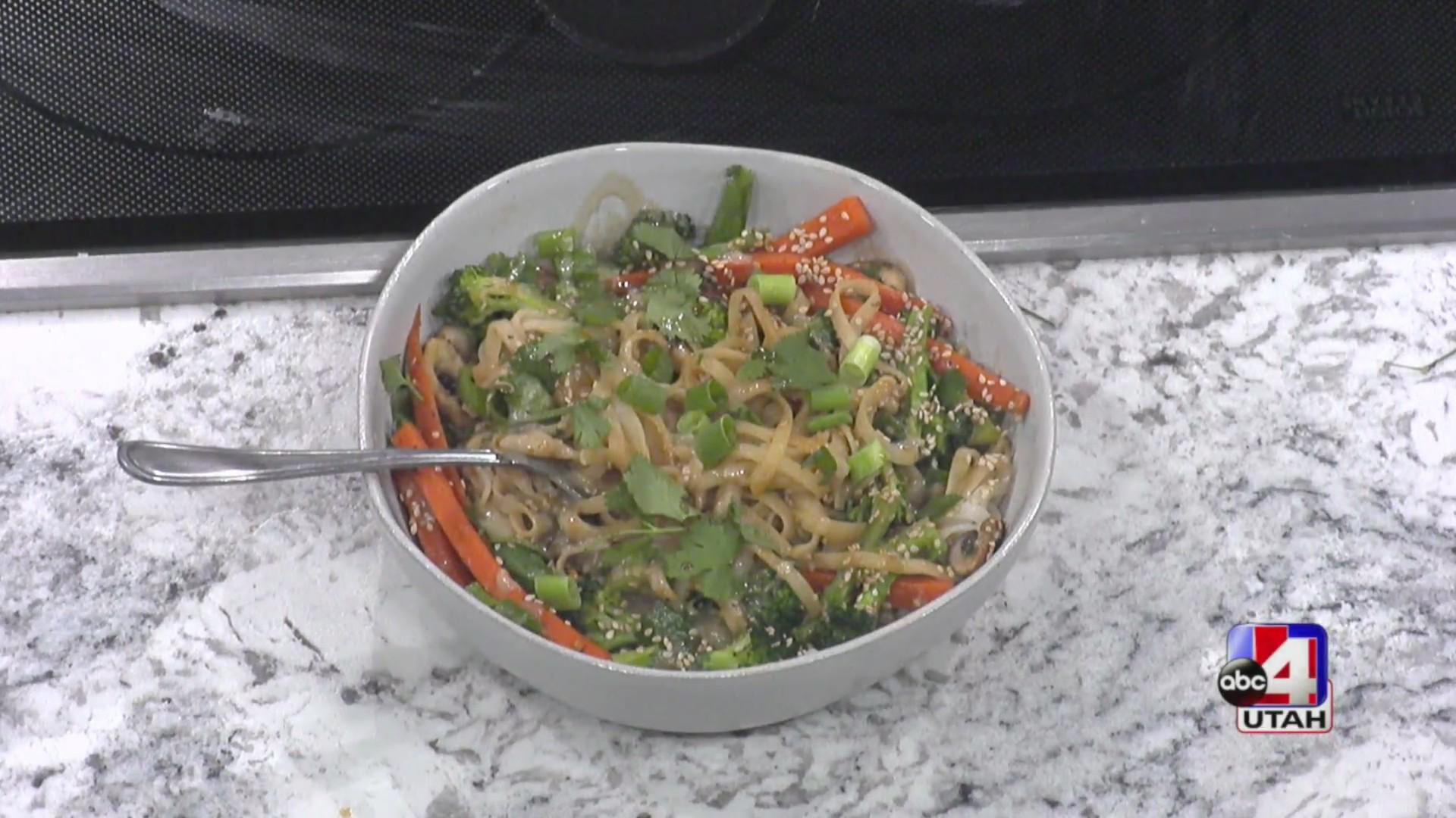 Tahini Pad Thai