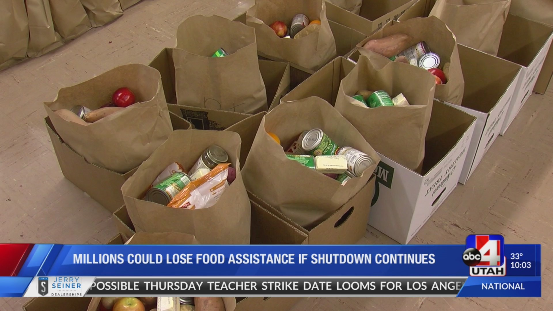 Thousands of Utahns could lose food assistance during government shutdown