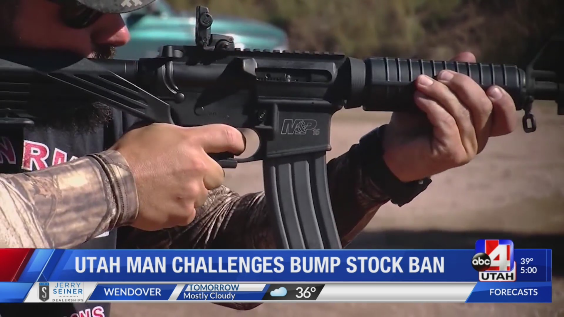 Utah man challenges Presidential bump stock ban in court