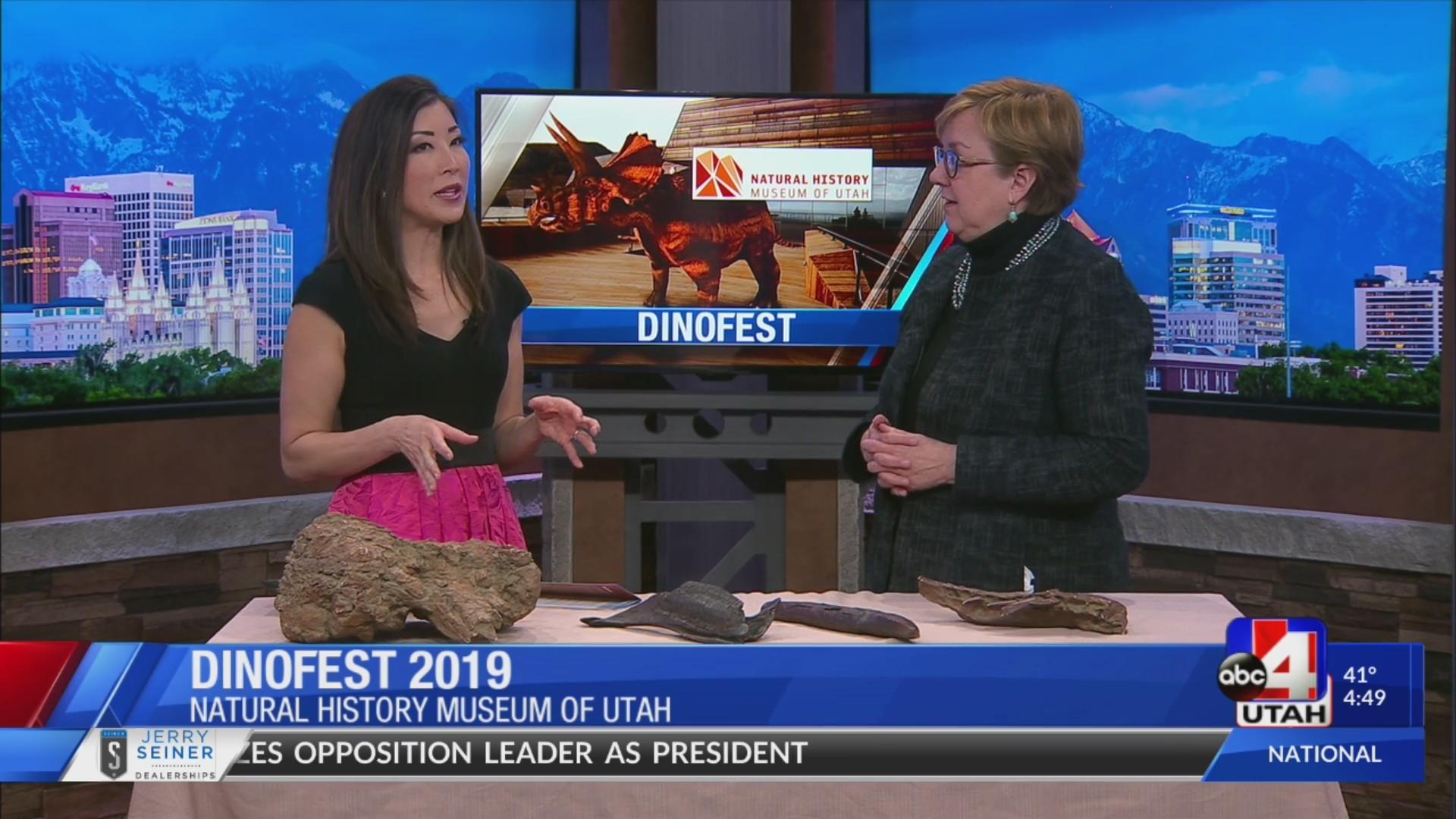 Utah's DinoFest 2019 kicks off this weekend