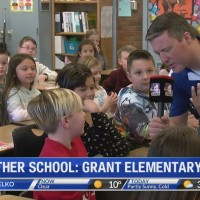 Weather school at Grant Elementary