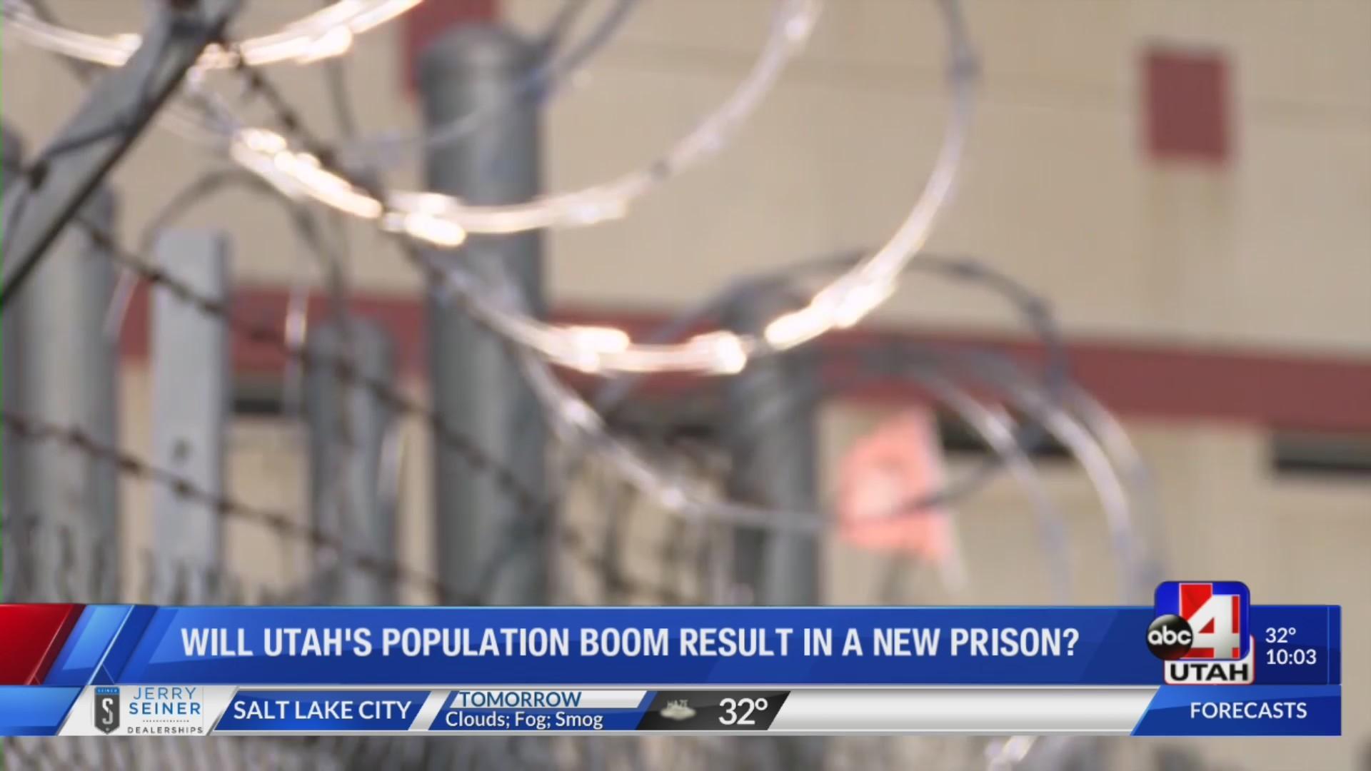 Will Utah's population boom result in new prison?