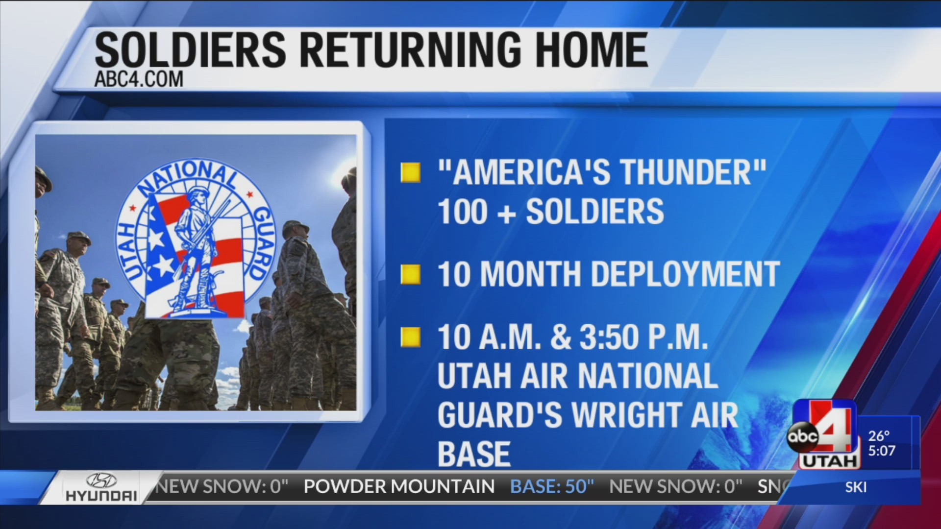 soldiers returning home