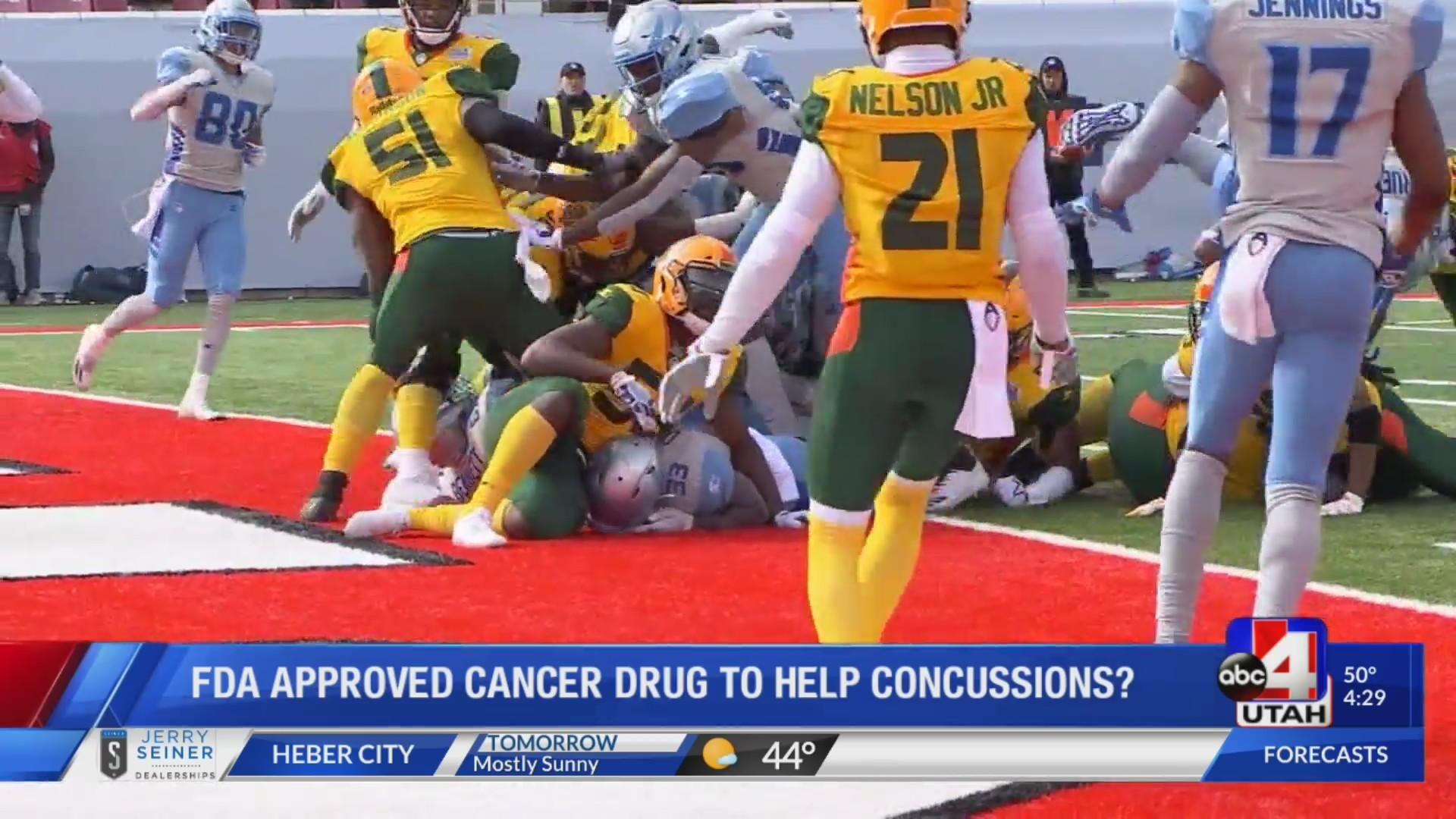 CANCER DRUG FOR CONCUSSION