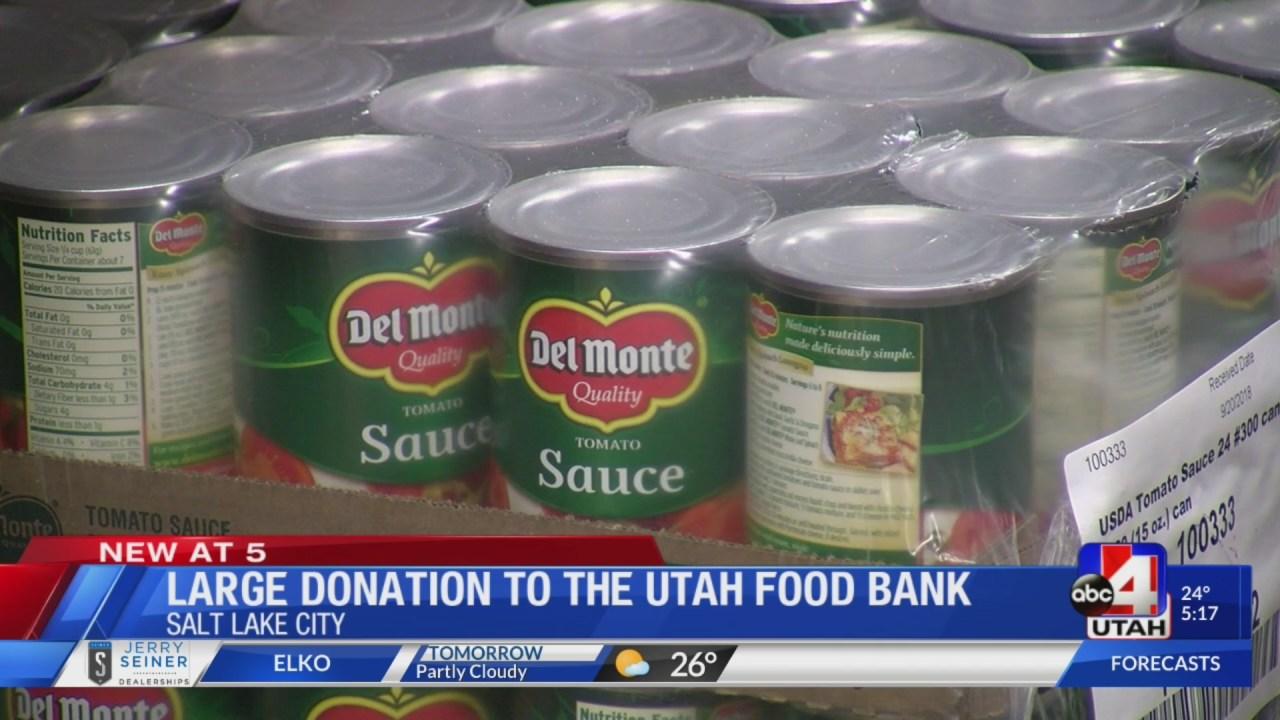 utah food bank donation guidelines